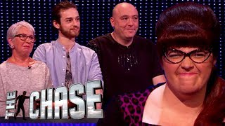 The Chase | Glynis, Joe and Phil's £12,000 Final Chase With The Vixen