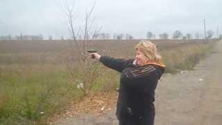 Постреляли с пистолета EKOL MAJOR и напугали дядю