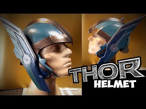 Thor Ragnarok Costume Helmet how to make
