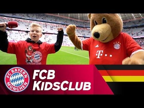 Nachwuchs-Reporter Lewin im Einsatz | FCB KidsClub