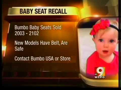 Bumbo seat recall - YouTube