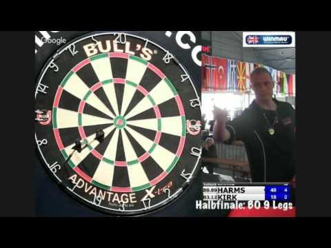 Bulls Darts Masters 2016 Halbfinale: Wesley Harms vs Kirk