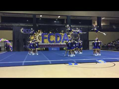 2017 Tuskawilla Competition Cheer FCDA Nationals Grand Champions