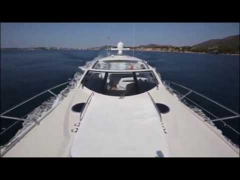 Charter Sunseeker Portofino 53 Puerto Portals Mallorca Charter Point