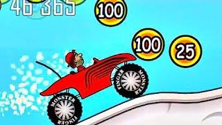 Игра для детей Hill Climb Racing. Мультик про машинку и мотоцикл. Серия 4