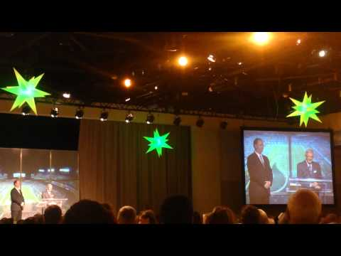 Skip & Lou Holtz Speaking at the 2011 USF Football Kickoff Dinner