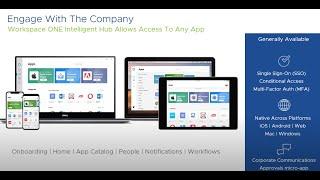 VMware Workspace ONE: Intelligent Hub Day 0 Onboarding - Feature Walk-through screenshot 4