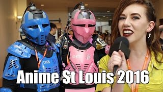 Anime St Louis 2016 - Cosplay! with April O Neil