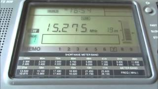 15275 Khz Deutsche Welle in Amharic via Tricomalee