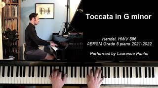 A:3 Toccata in G (ABRSM Grade 5 piano 2021-2022)