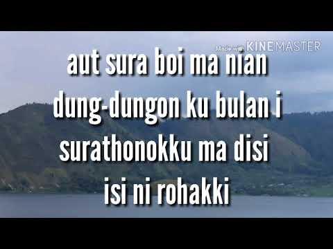 Boan au -  Marsada Band (Lirik)