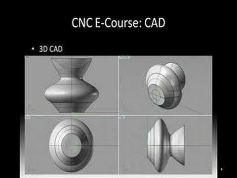 CNC Basics E-Course 3 | CAD | Learn CAD Video | CAD/CAM Tips
