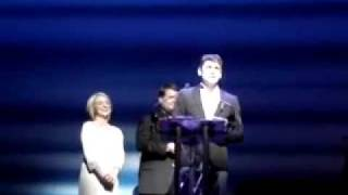Ryan Molloys acceptance speech for his 'What's on Stage Theatregoers' Choice Award!