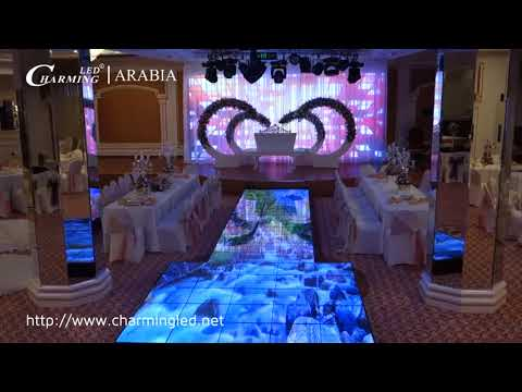 P7.8 LED Dance Floor & LED Display Project @ Saudi Arabia