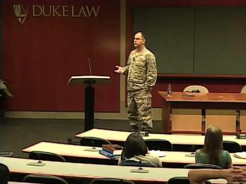 Major David Frakt   The Devilish Difficulty of Defending a Detainee