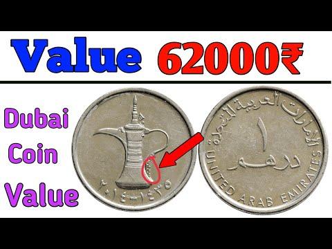 Dubai 1 Dirham coin value in India ll UAE Coin Price list अगर आपके पास भी है दुबई का ये सिक्का