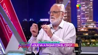 Juan Carlos de Pablo en Animales Sueltos / Fantino HD ( 10/11/2015 )