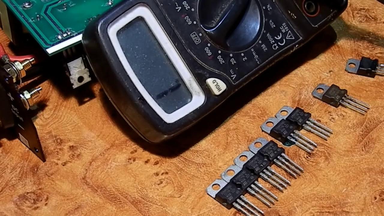 Подбираем правильно транзисторы силовой части Grid invertor