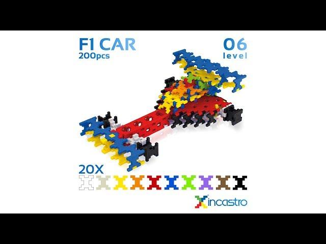 INCASTRO | Level 6 | F1Car