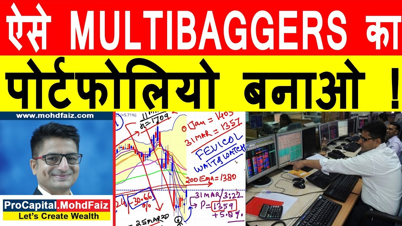 ऐस Multibaggers क प र टफ ल य बन ओ Multibagger Stocks 2020 Pidilite Industries Share Price Youtube