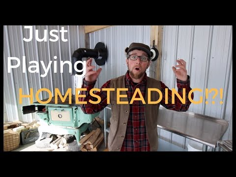 Response to Pure Living for Life comment Playing Homesteading