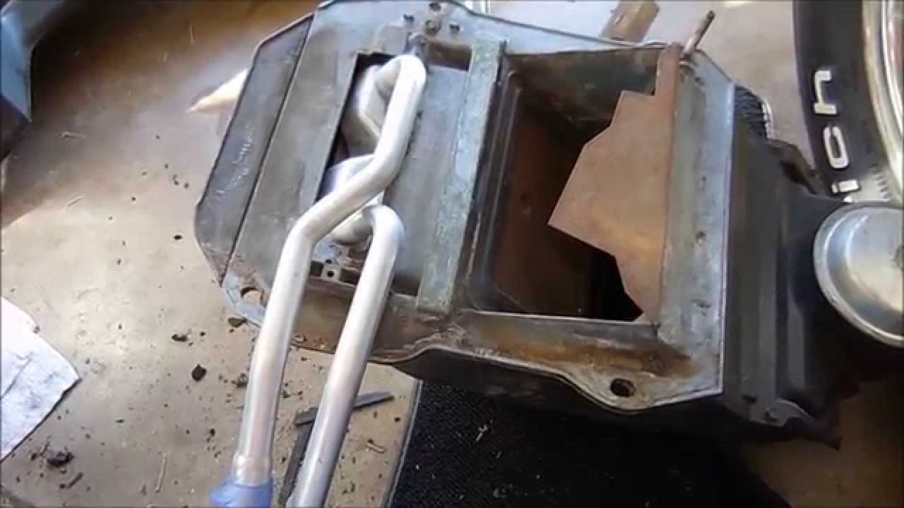 how to replace the heatercore on a c3 corvette