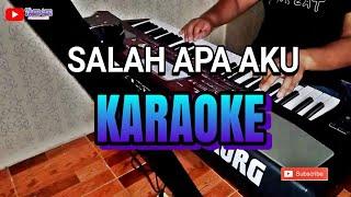 Salah Apa Aku Karaoke Dangdut Koplo