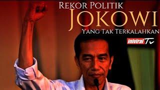 Rekor politik jokowi yang tak terkalahkan