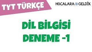 TYT Türkçe  Dil Bilgisi Deneme Soru Çözümleri  1