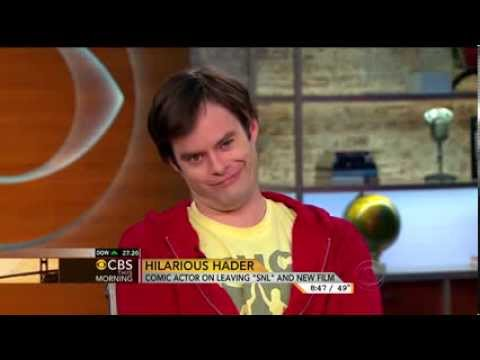 Bill Hader does Charlie Rose impression & Norah O'Donnell la
