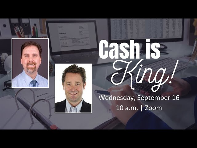 Cash is King - Budget Planning & Forecasting
