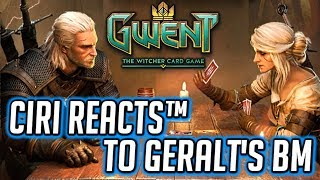 Ciri Reacts™ to Geralt