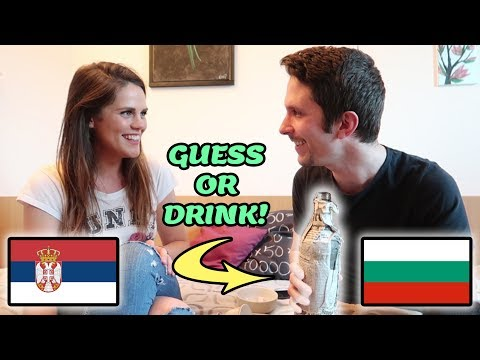 Bulgarian vs Serbian - Guess The Word Or Drink!