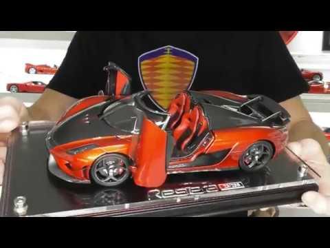 KOENIGSEGG REGERA FULL OPENING by Fronti-art Models - Full Review