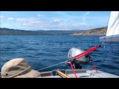 Circumnavigation of Bute by Wayfarer dinghy