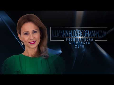 Business woman of the year 2016 Slovakia -  product Oxywater-English subtitles
