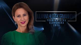 Business woman of the year 2016 Slovakia product Oxywater English subtitles