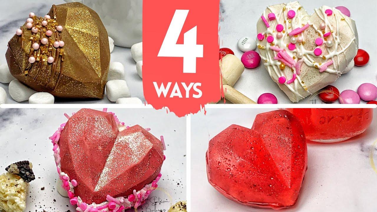 4 Ways to Use Heart Shaped Hot Chocolate Bomb Mold