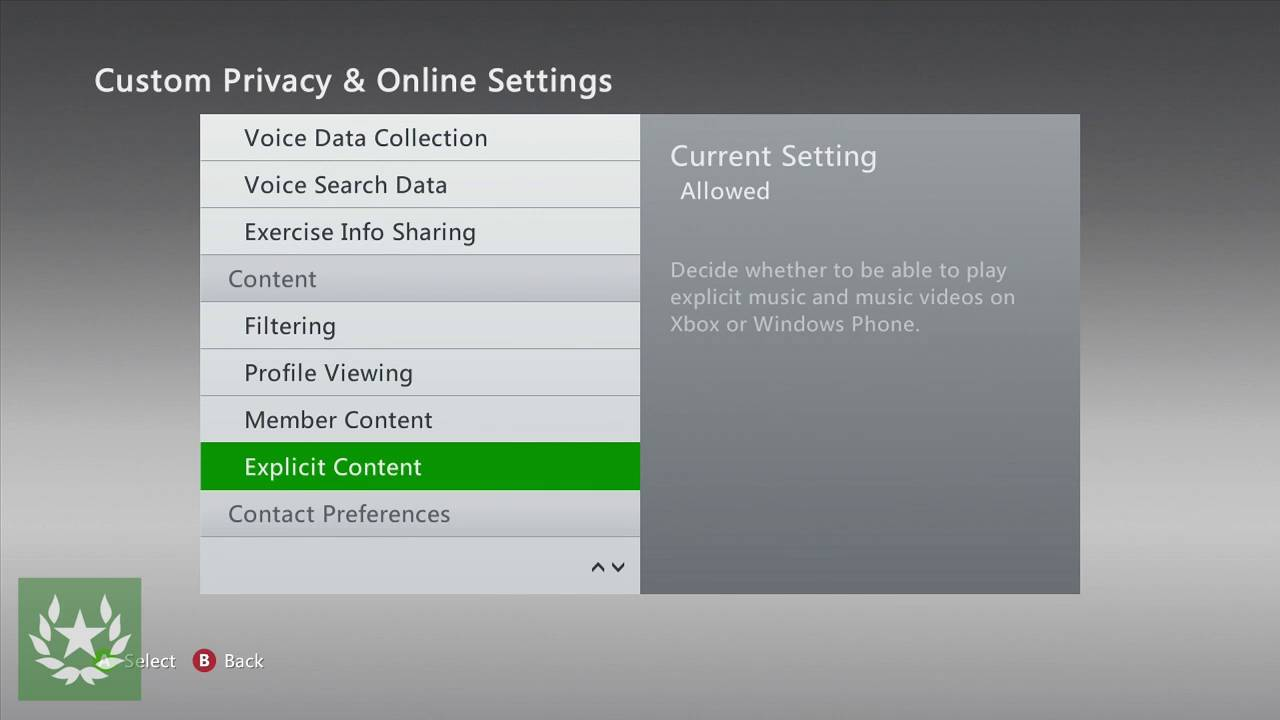 How to Manage your Privacy \u0026 Online Safety Settings on Xbox 360