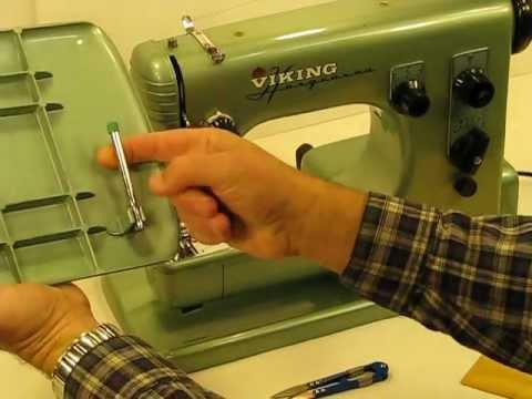 Amazing Husqvarna Viking 40E Special Introduction And BONUS Gorgeous Husqvarna Viking Sewing Machine Repair Manual
