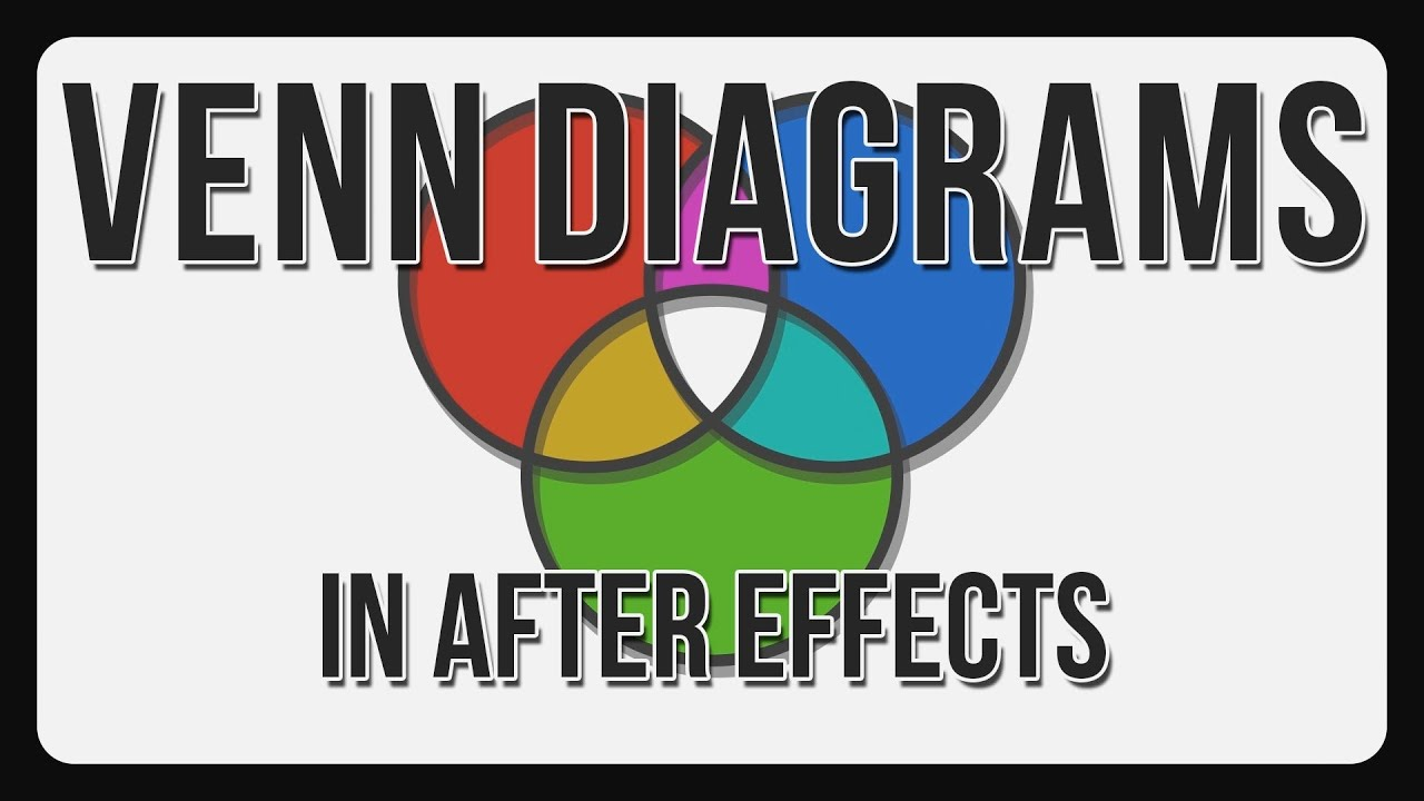 Animate venn diagrams adobe after effects tutorial youtube animate venn diagrams adobe after effects tutorial ccuart Choice Image