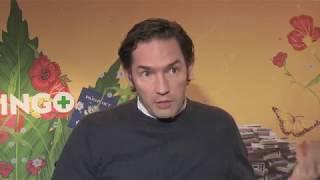 Joel and Nash Edgerton speak Spanish for Gringo. streaming