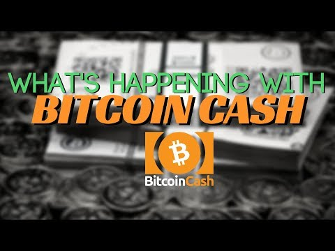 What's Happening With Bitcoin Cash