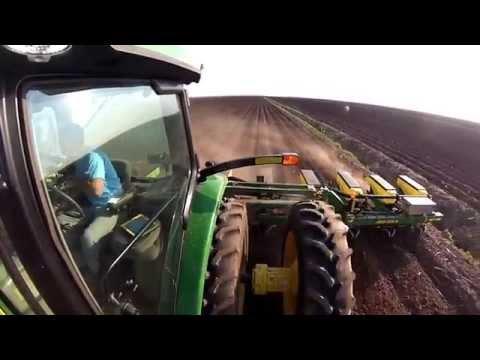 Cotton Planting 2014 3B Farms