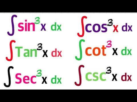 INTEGRATION BY USING TRIGONOMETRIC IDENTITIES | INTEGRAl OF SIN^3X Dx