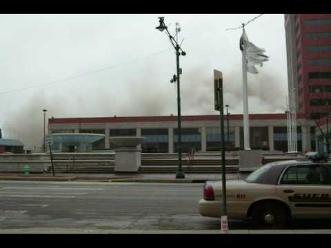 INDIANAPOLIS RCA DOME IMPLOSION