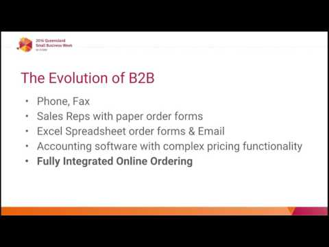 Implementing a B2B Online Ordering System for Wholesale Trade 2016 05 17