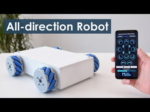 Arduino Mecanum Wheels Robot
