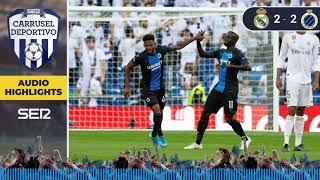 Real Madrid 2 - 2 Brujas: los goles de Champions League en Carrusel