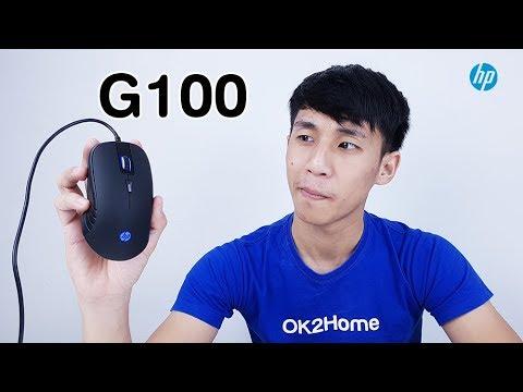รีวิวเมาส์ HP G100 Gaming Mouse พร้อมไฟ LED สีสวยถูกใจ